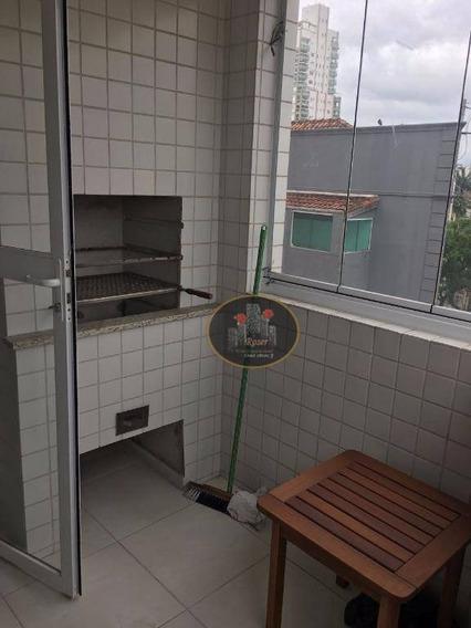 Apartamento Para Alugar, 70 M² Por R$ 2.700,00/mês - Gonzaga - Santos/sp - Ap3016