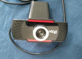 Hxsj S30 Webcam Usb 1 Megapixel Hd Câmera - Preto
