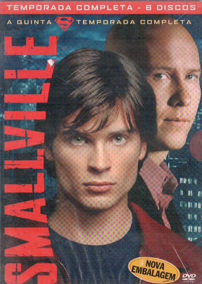 Smallville - 5 Temporada-box (dvd)