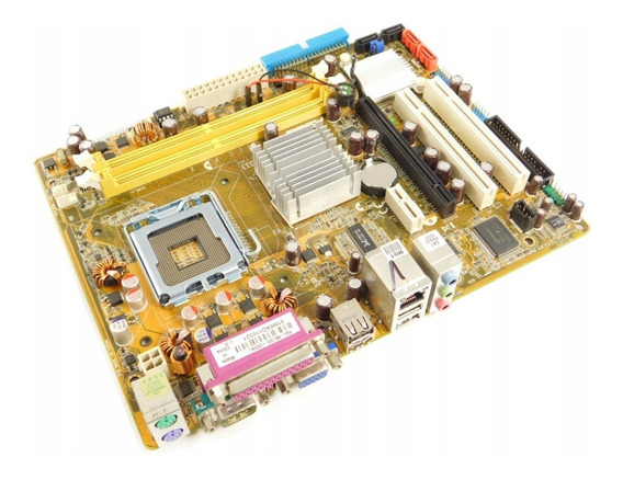 Placa Mãe Desktop Intel Lga775 Ddr2 P5gc-mx - Original