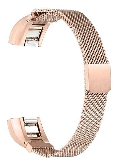 Pulseira De Relógio Miimall Milanese Para Fitbit Alta/alta H