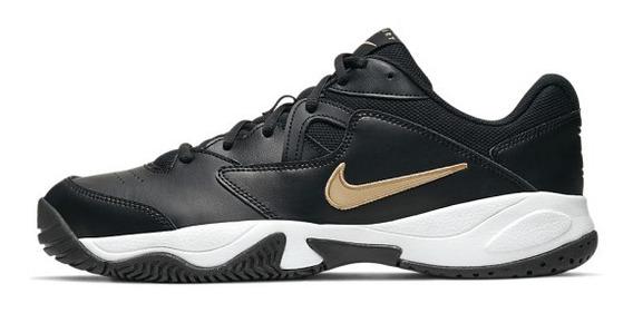 Tênis Nike Court Lite 2 - Black/metallic Gold-white