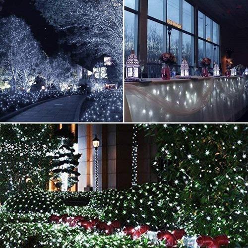 MUSCCCM Guirnalda Iluminada de Oto/ñO,2M 20 LED Hoja de Arce Artificial Luces de Cadena,Guirnalda Para Oto/ñO L/ámparas Decoraci/óN di Navidad Halloween de Exterior