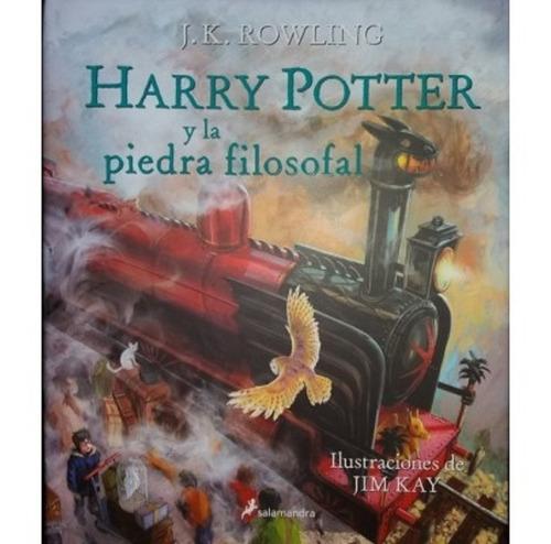Harry Potter Y La Piedra Filosofal Ilustrado Salamandra Mercado Libre