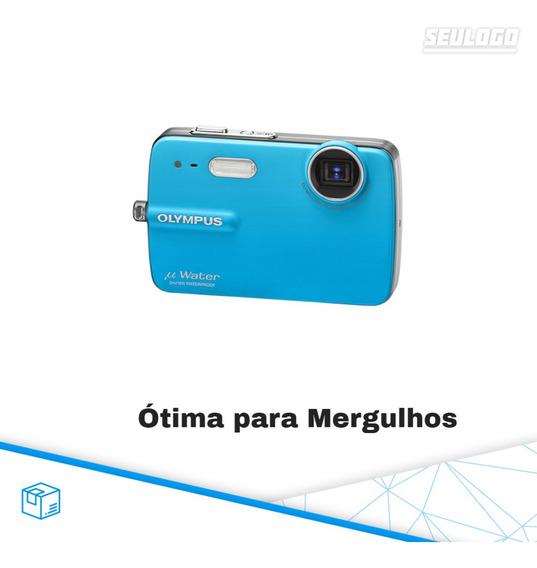 Camera Digital A Prova De Agua Olympus U-550wp 3 Metros