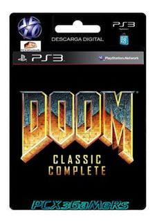 Ps3 Juego Doom Classic Complete Pcx3gamers