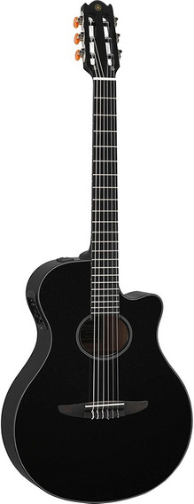 Guitarra Electroacústica Yamaha Ntx500 Bl Black Nueva