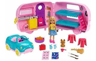 Camper De Barbie Club Chelsea Juguete Niñas