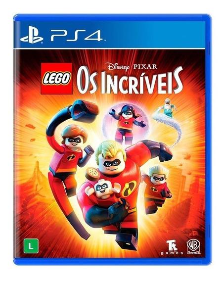Lego Disney Pixar Os Incríveis Ps4 Mídia Física Novo Lacrado