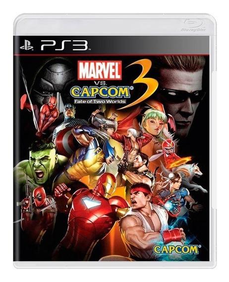 Marvel Vs Capcom 3 Fate Of Two Worlds - Ps3 - Usado