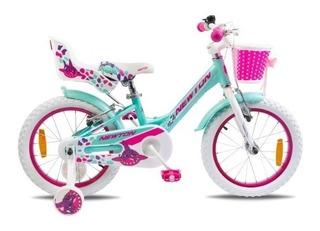 Bicicleta Nena Newton. Shark. Rodado 20 Aluminio