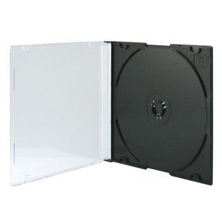 Cajas Acrilicas Nacionales Cd Dvd Slim 5mm Negra E+