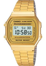 Relógio Casio Unissex A168wg9wdf (((original E Nf-e)))