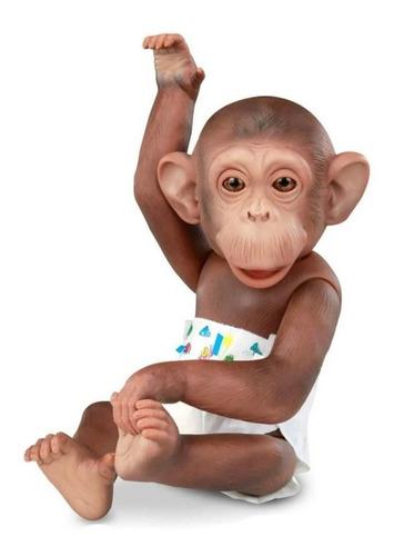 Boneco Vinil Macaco Little Caco C/ Aplicativo - Brinquedo