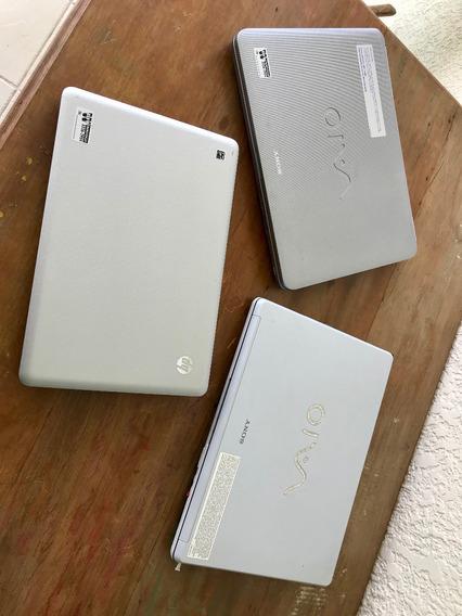 Notebooks Sony Vaio E Hp Para Retirada De Peças
