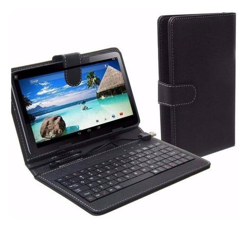 Funda Con Teclado Inalámbrico Para Tablet De 10'' Nkb-bt10