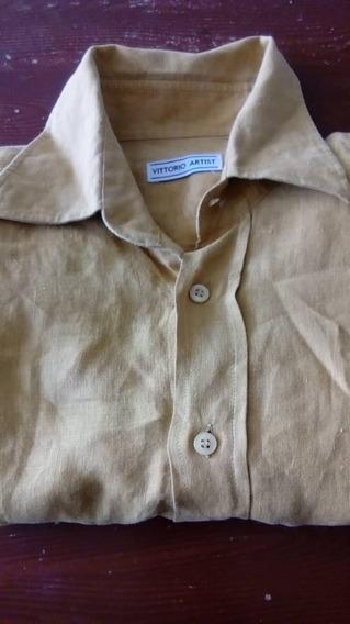 Camisa De Lino Para Caballero Talla L