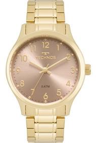 Relógio Technos Feminino Elegance Original Nota 2035mpf/4t