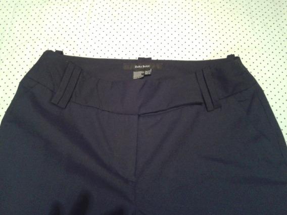 Pantalón De Vestir Dama Zara Basic
