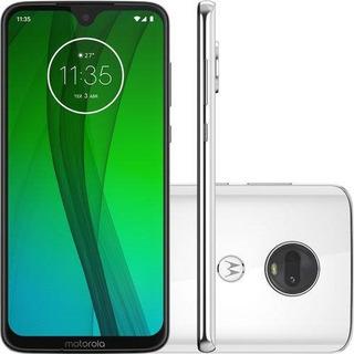 Smartphone Motorola Moto G7 Branco, Dual Chip, Tela 6,24
