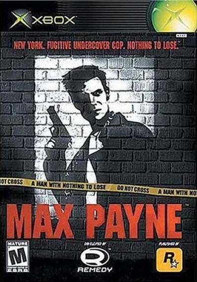 Jogo Max Payne Xbox Clássico Original Mídia Física Game