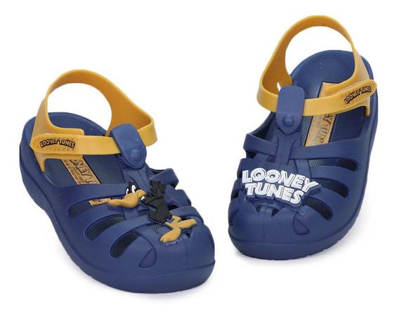 Sandália Infantil Grendene Looney Tunes Folk Baby