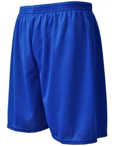 Calção Short Futebol Futsal Treino-liso-adulto-oficial--azul