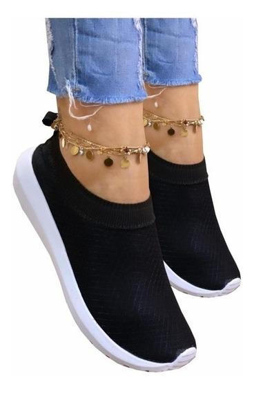 Tenis Sapatenis Sapato Sapatinho Feminino Casual