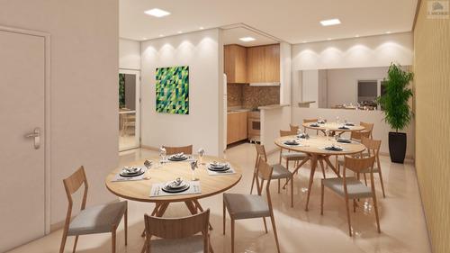 Apartamento Para Venda Em Santo André, Vila São Pedro, 2 Dormitórios, 1 Banheiro, 1 Vaga - Ve1769_2-1131824