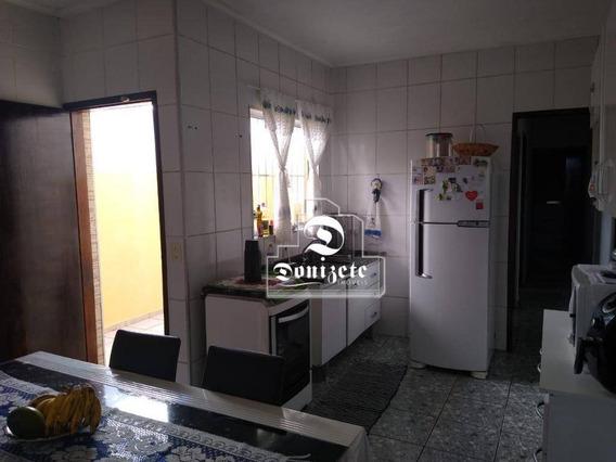 Casa Com 2 Dormitórios À Venda, 92 M² Por R$ 340.000,00 - Jardim Utinga - Santo André/sp - Ca1178