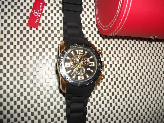 Relógio Swiss Legend 316l Stainless Steel Novo Na Caixa.