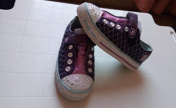 Zapatos De Niña Skechers Twinkle Toes Limited Edition Orig