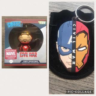Dorbs Homem De Ferro Marvel Collector Corps + Chaveiro