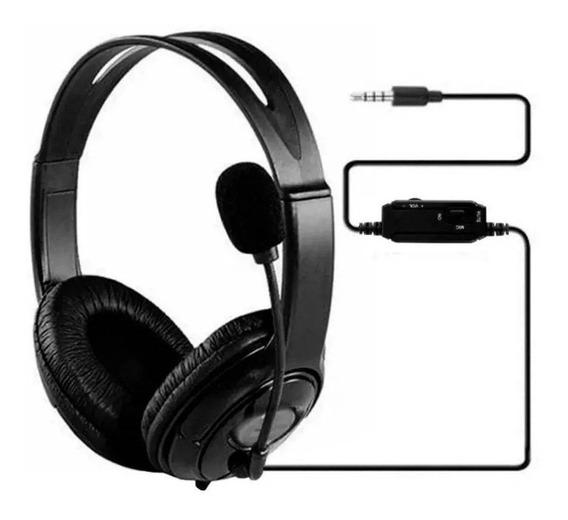 Fone Ouvido Headset Gamer Microfone Ps4 Pc Barato Celular