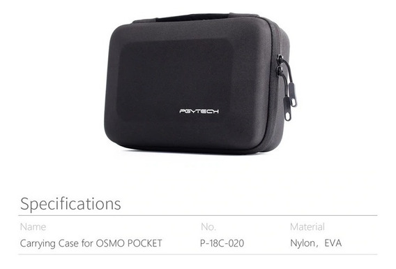 Case Bolsa Transporte Dji Osmo Pocket Pgytech Compacta