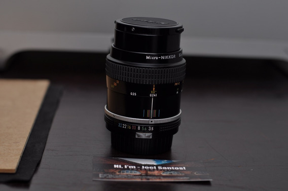 Nikkor 55mm 1:3.5 Macro