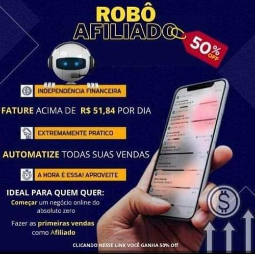 Imagem 1 de 1 de Robô Para Afiliado
