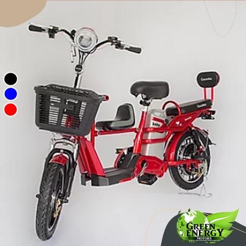 Bicicleta Eléctrica Baby 350w Litio 48v12ah Enviosnacionales