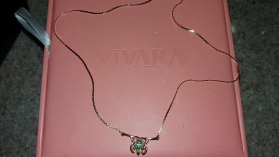 Colar De Ouro Com Esmeraldas E Diamantes