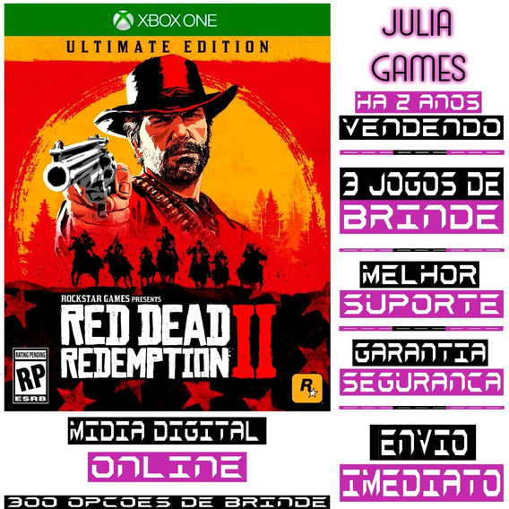 Red Dead Redemption 2 Ultimate Ed. Xbox One Online+ Brinde