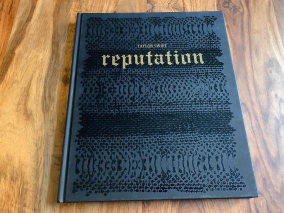 Taylor Swift Reputation Livro Capa Dura Vip Oficial Raro Nov