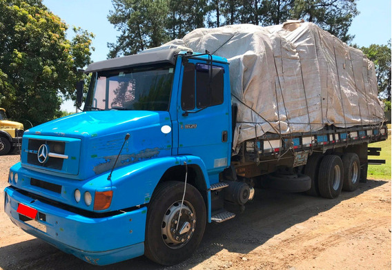 Mb-1620 - 6x2- 2005/05- Carroceria - Azul