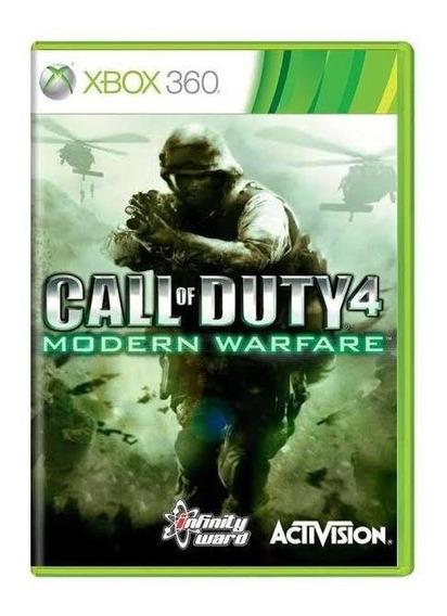 Call Of Duty 4 Modern Warfare Mídia Física Original Xbox 360
