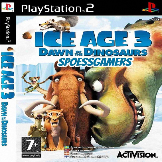 A Era Do Gelo 3 ( Ice Age 3 ) Ps2 Desbloqueado Patch