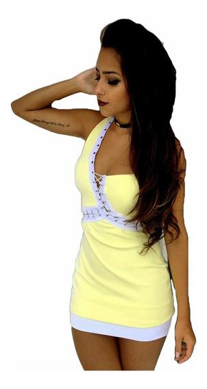 Vestido Sal E Pimenta Vt109 Original