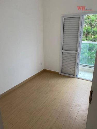 Cobertura À Venda, 40 M² Por R$ 285.000,00 - Vila Guiomar - Santo André/sp - Co0264