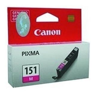 Cartucho Canon Cli-151 Magenta, Compatible Con Ip7210, Mg541