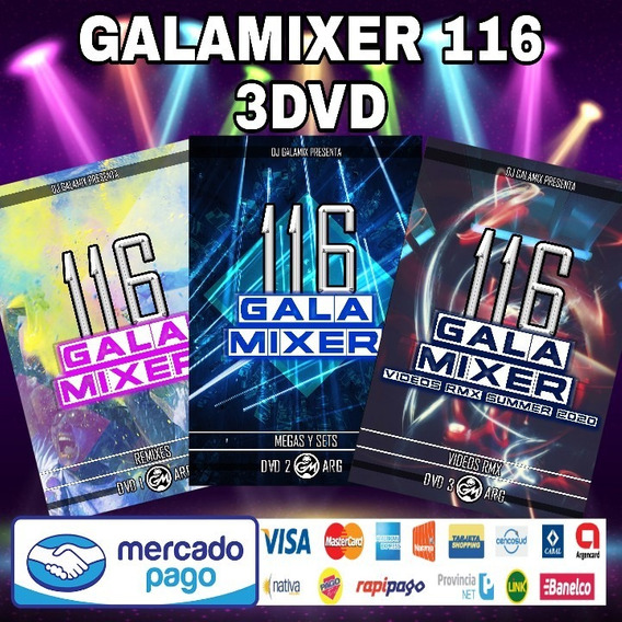 Galamixer 116 Música Remix En Mp3