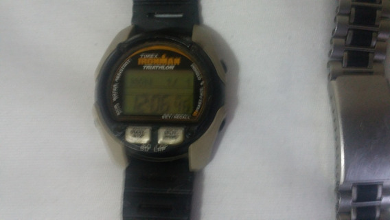 Antigo E Vintage Timex Ironman Triathlon Heart Hate Fitness