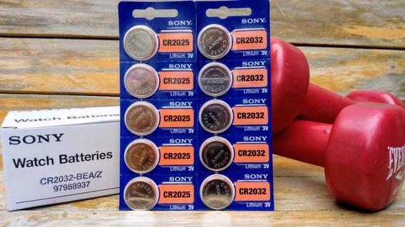 Bateria 3v 2032 Y 2025 Sony U.s.a, Vence2028